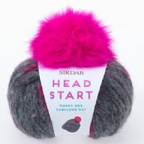 Head Start - Super Chunky Hat Kit including Pom Pom - RRP £8.37. OUR PRICE £6.99